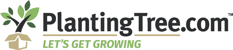 logo planting tree online garden center